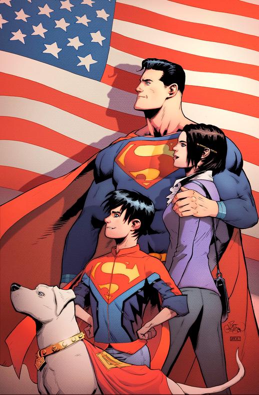 Patrick Gleason's retailer-exclusive Newbury Comics variant.
