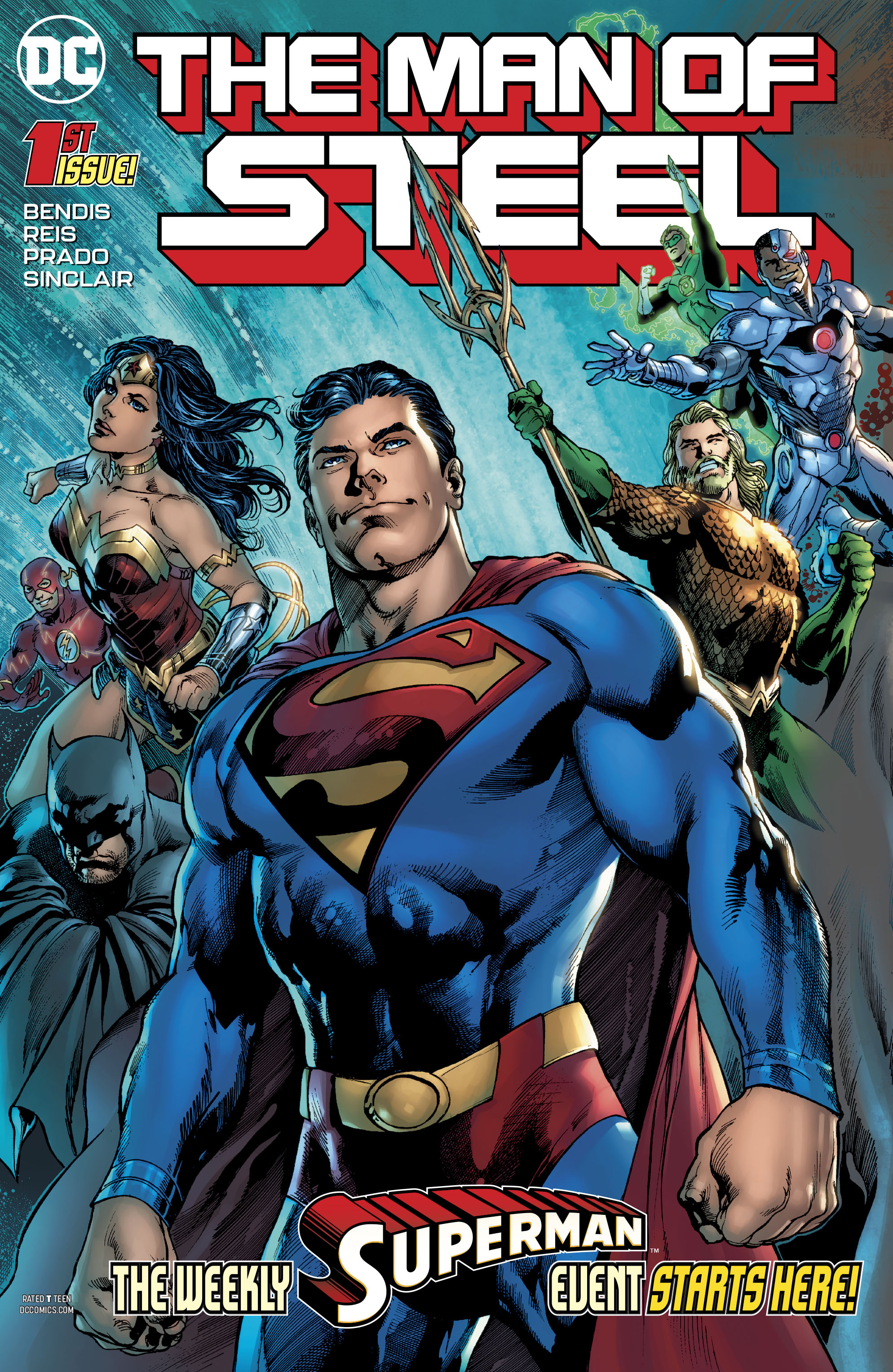 Man of Steel #1  marks the beginning of Brian Michael Bendis at DC.