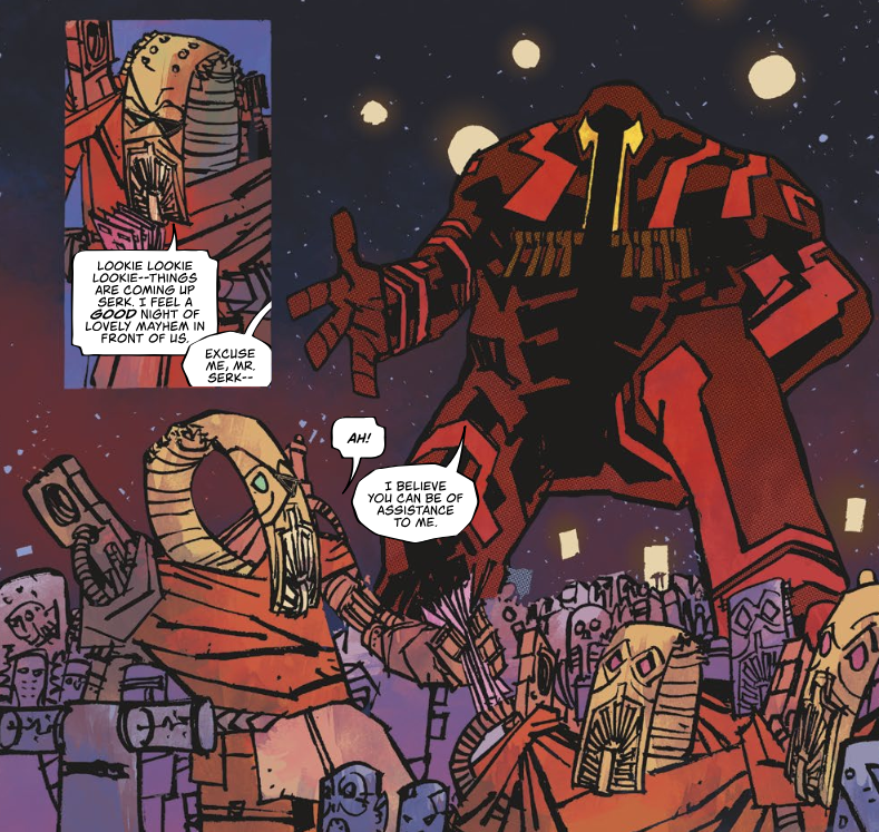 Hayden Sherman is establishing himself as one of the best sci-fi artists in comics.
