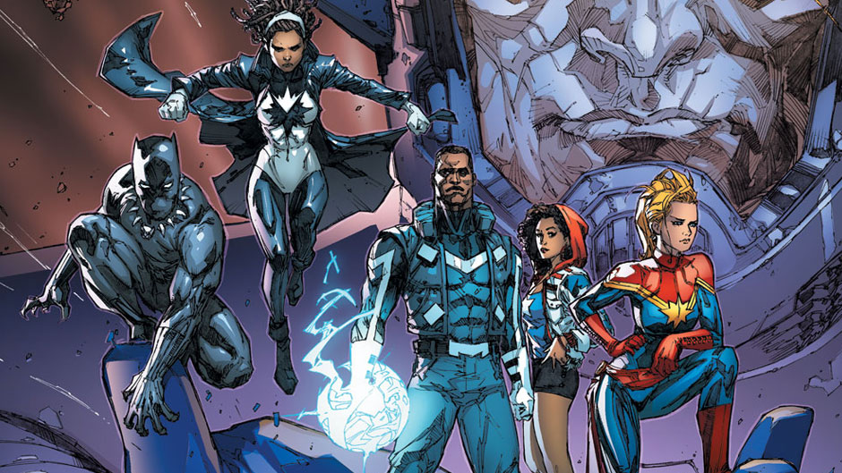 Al Ewing's  Ultimates  came together to proactively solve the biggest problems in the universe.