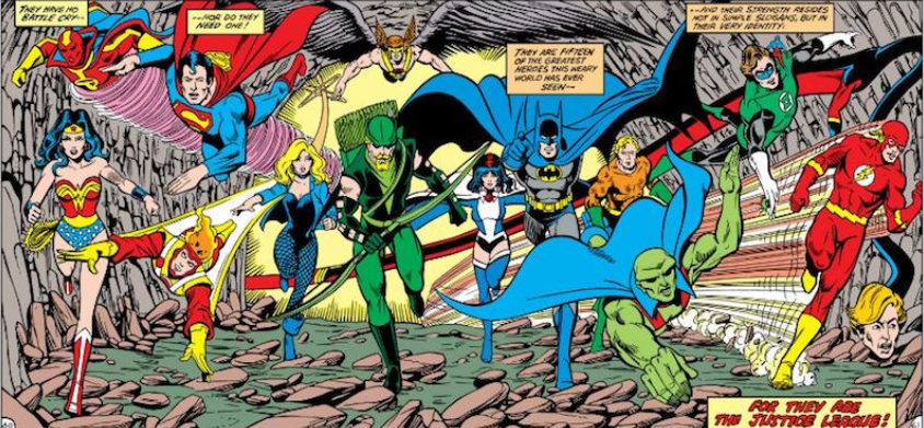 The nearly 200-issue run during the League's Satellite Era is the defining  Justice League  iteration.