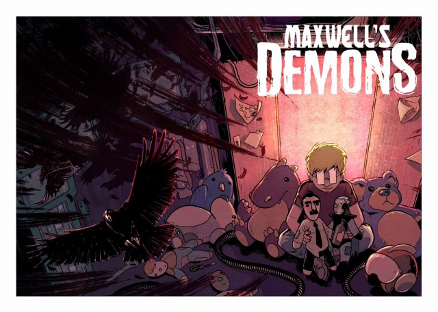 Maxwell's Demons  is the comic I most-often  give to my friends who enjoy literary fiction.