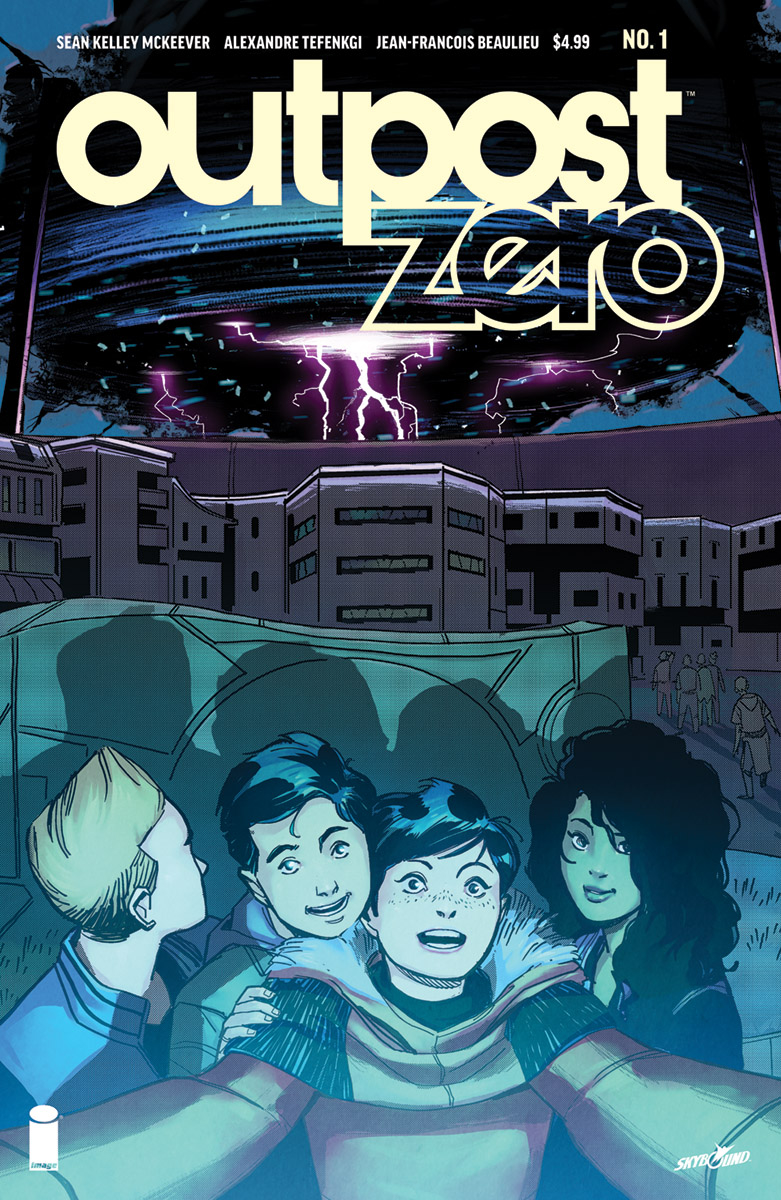 Outpost Zero #1  is out July 11.