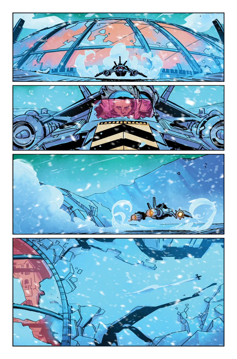 A preview page from  Outpost Zero #1.