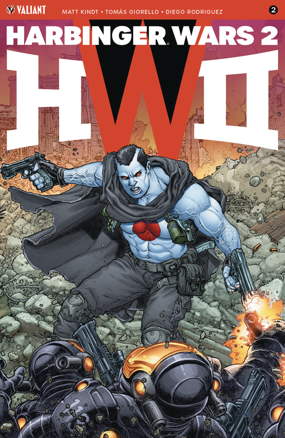 There is a level of novelty to  Harbinger Wars 2 #2  that  Marvel  and  DC  are no longer capable of reaching.