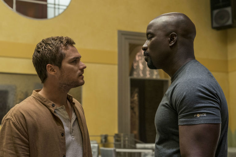 Finn Jones as Danny Rand is a lot more fun when he's supposed to be insufferable.