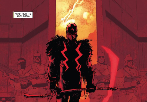 Vox is one of the most immidiately fearsome villains in recent  Marvel  memory.