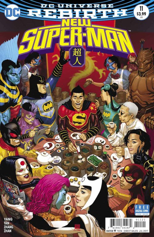 New Super-Man , one of the best comics of  DC's Rebirth  era, came to an end this month after 24 issues.