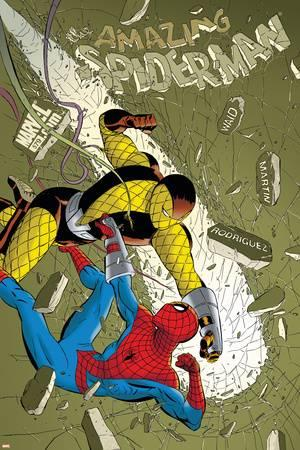 "Marcos Martin's work on Spider-Man has been described by  better websites  than this one as ""ultra-modern nostalgia."""