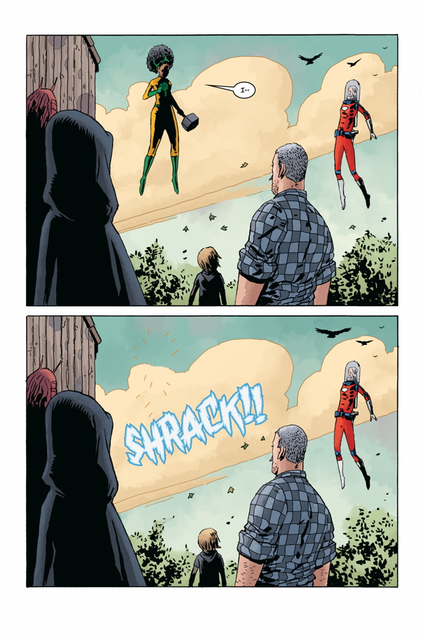 Jeff Lemire's  Black Hammer  is a rare superhero deconstruction steeped in homage and fantastic mystery.