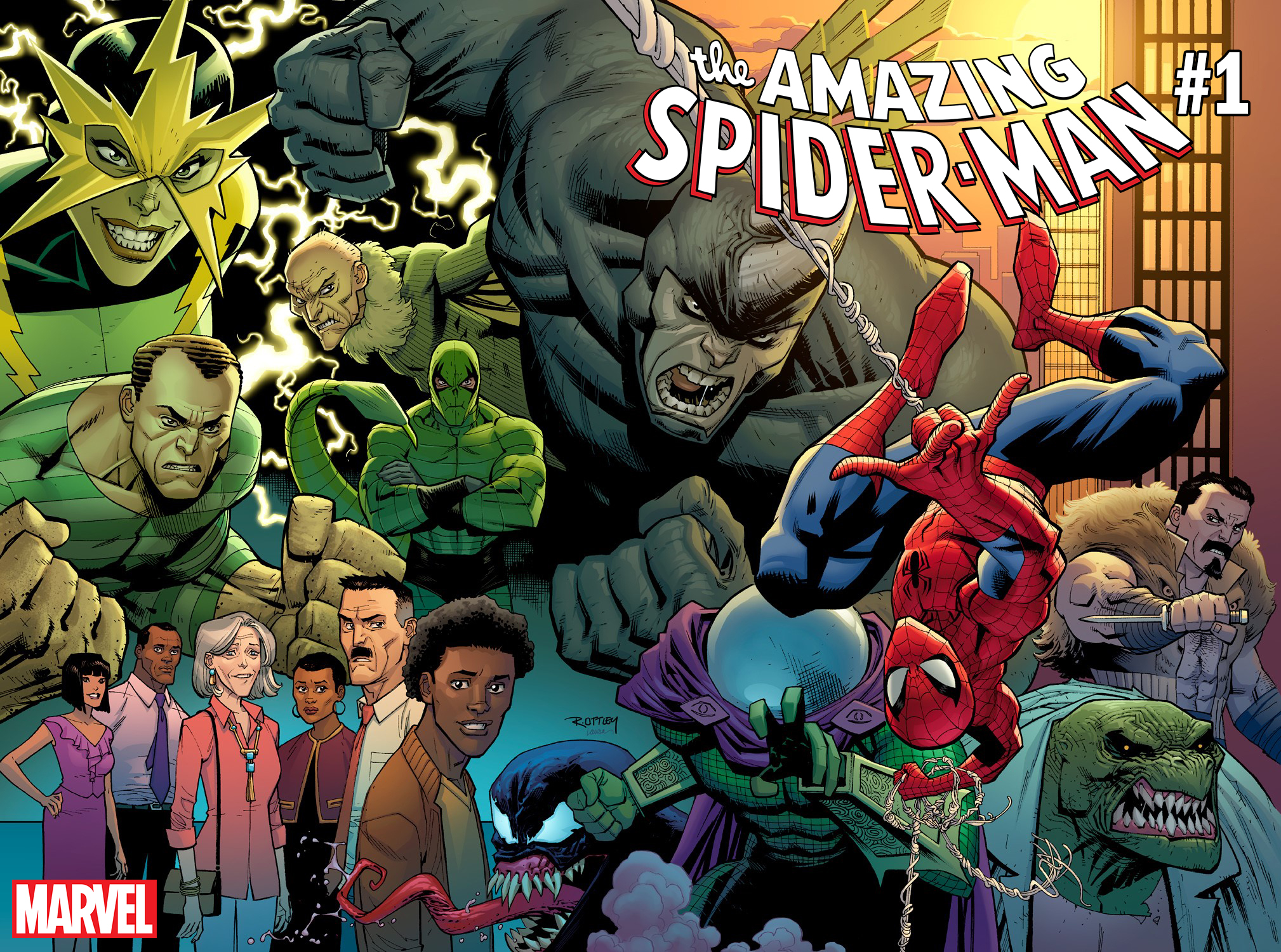 Amazing Spider-Man  seems to be in good hands with Nick Spencer and Ryan Ottley.