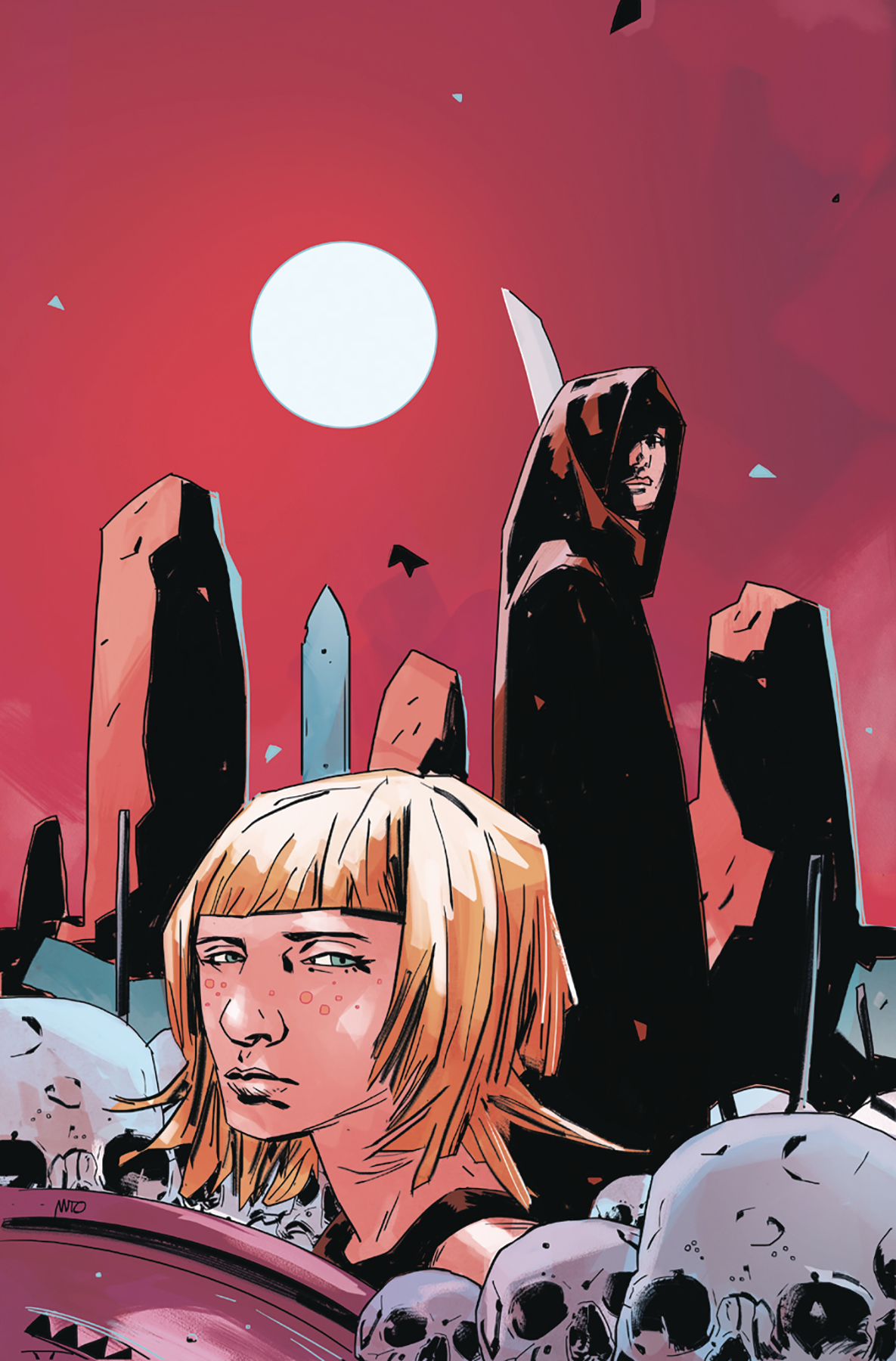 Clankillers #1  is dark and gritty in way readers might not expect.