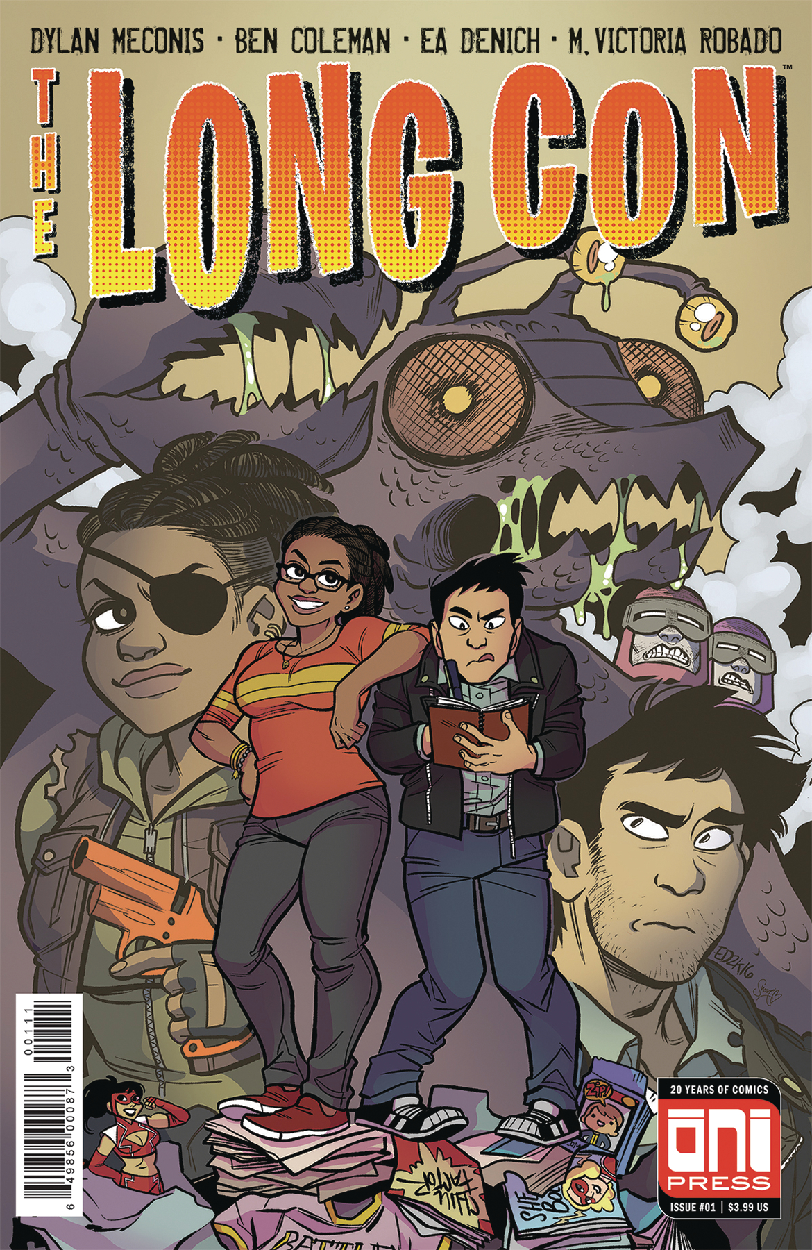 The Long Con #1  is out July 25, and highly recommended for anyone in the throes of post  SDCC  recovery.