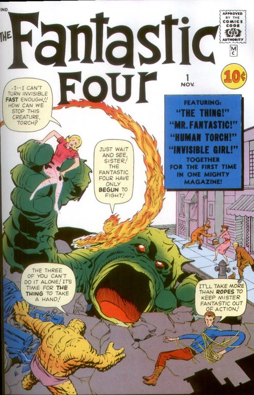 Fantastic Four #1 (1961) and the Birth of the Marvel Universe