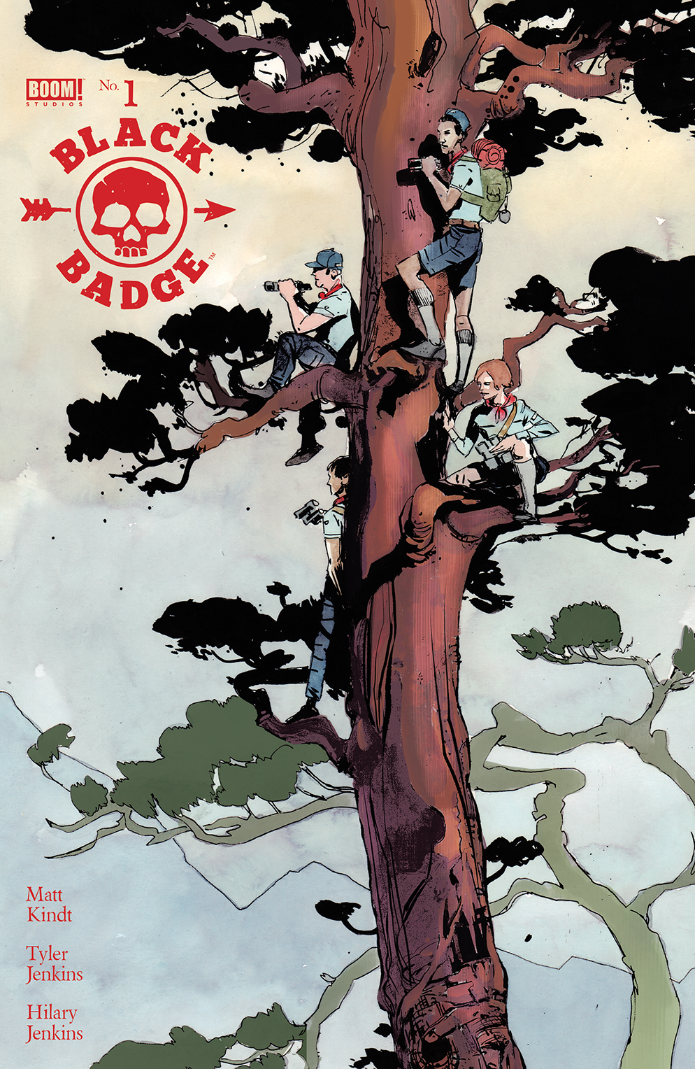 Black Badge #1  is a polished and confident debut from the same team behind  Grass Kings.