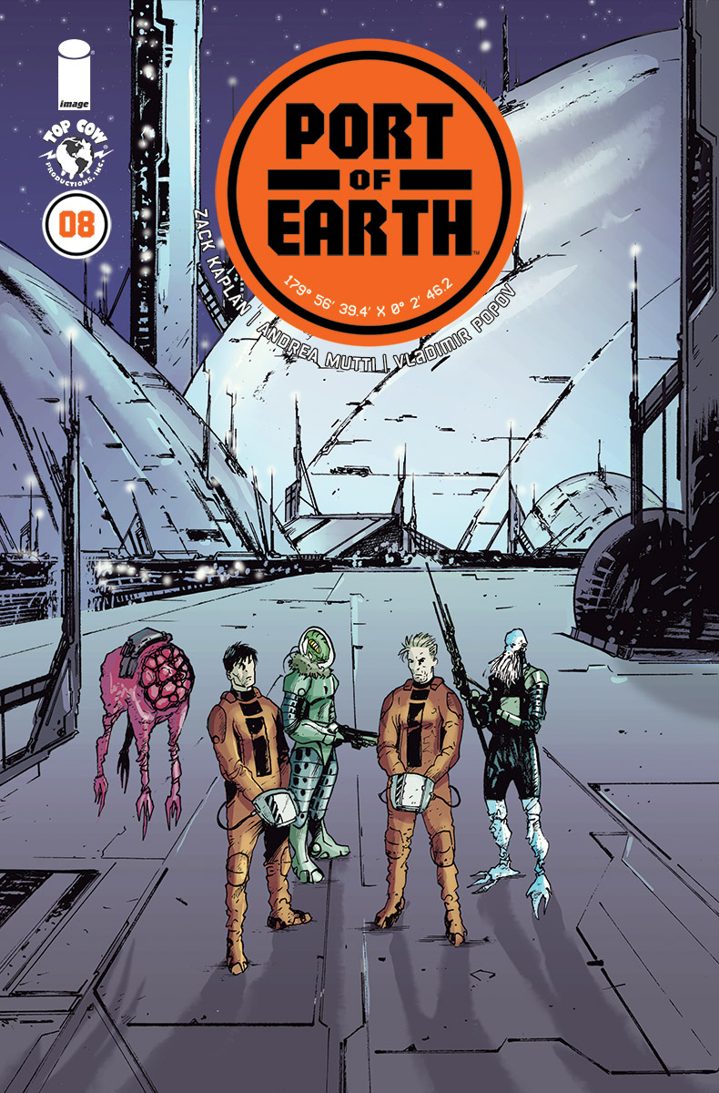 Port of Earth #8  came out this Wednesday.