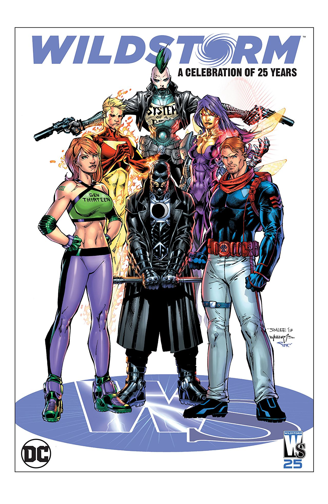 WildStorm is really 25 years old now. Really.