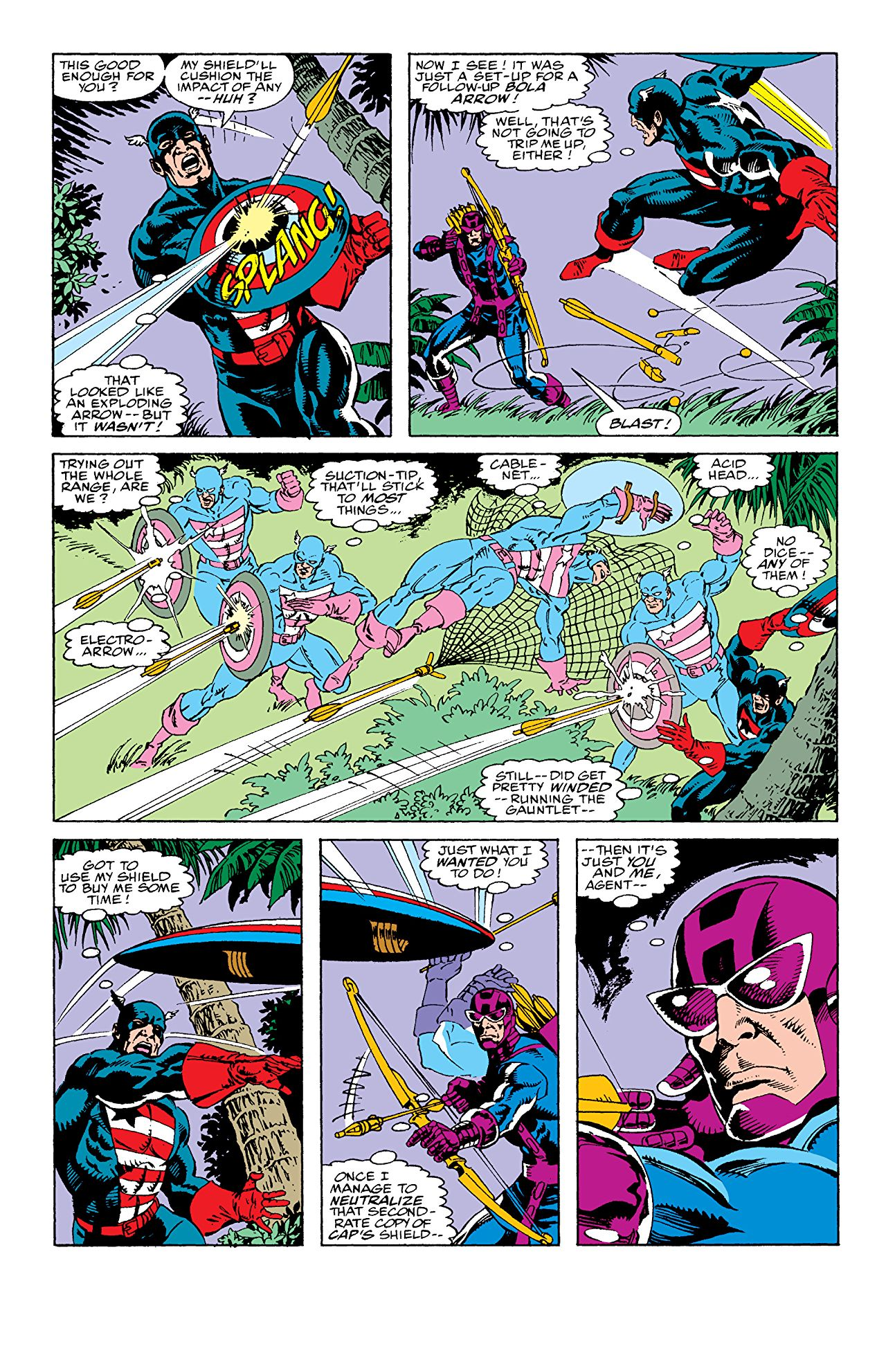 The infamous fight in  Avengers West Coast #69.