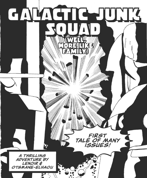 The cover for issue #1.