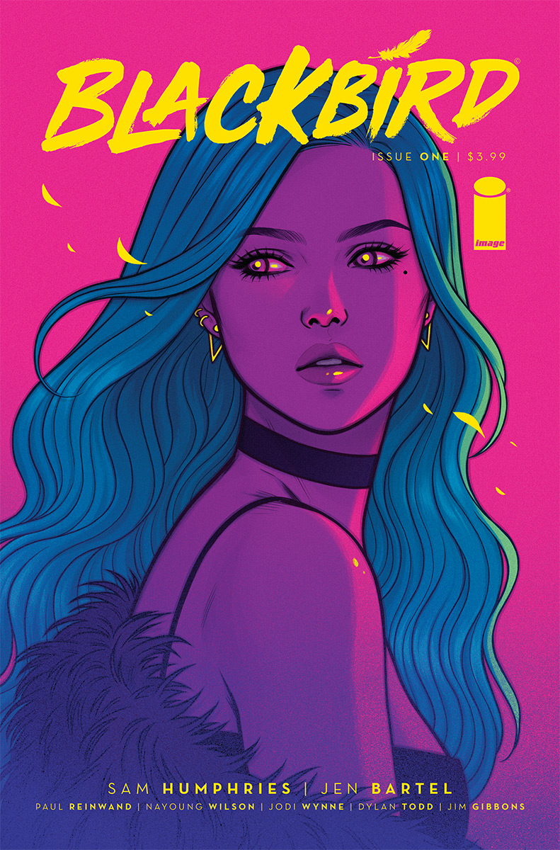Blackbird #1  is due out 10/3.