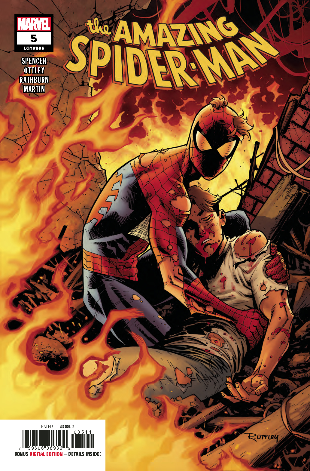 Amazing Spider-Man #5  is out 9/12.