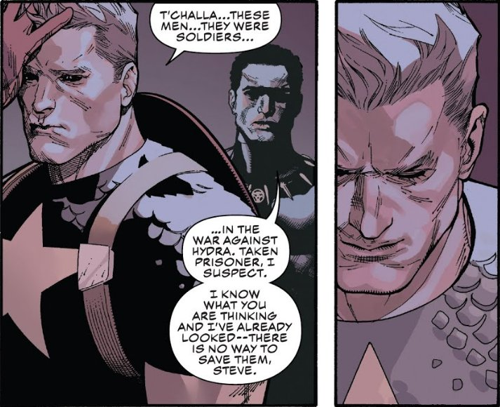 *Eyebrow waggle* (art by  Leinil Francis Yu  from  Captain America #3 ).