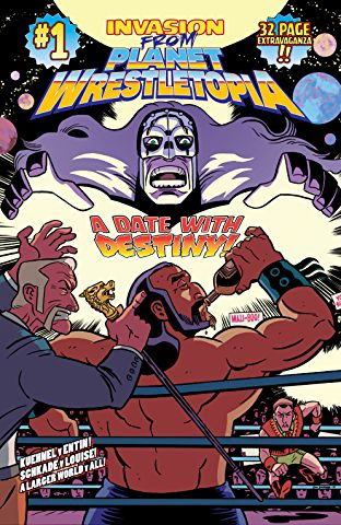 Invasion From Planet Wrestletopia #1.