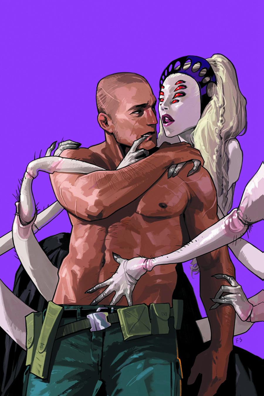 Saga #9  cover by Fiona Staples.