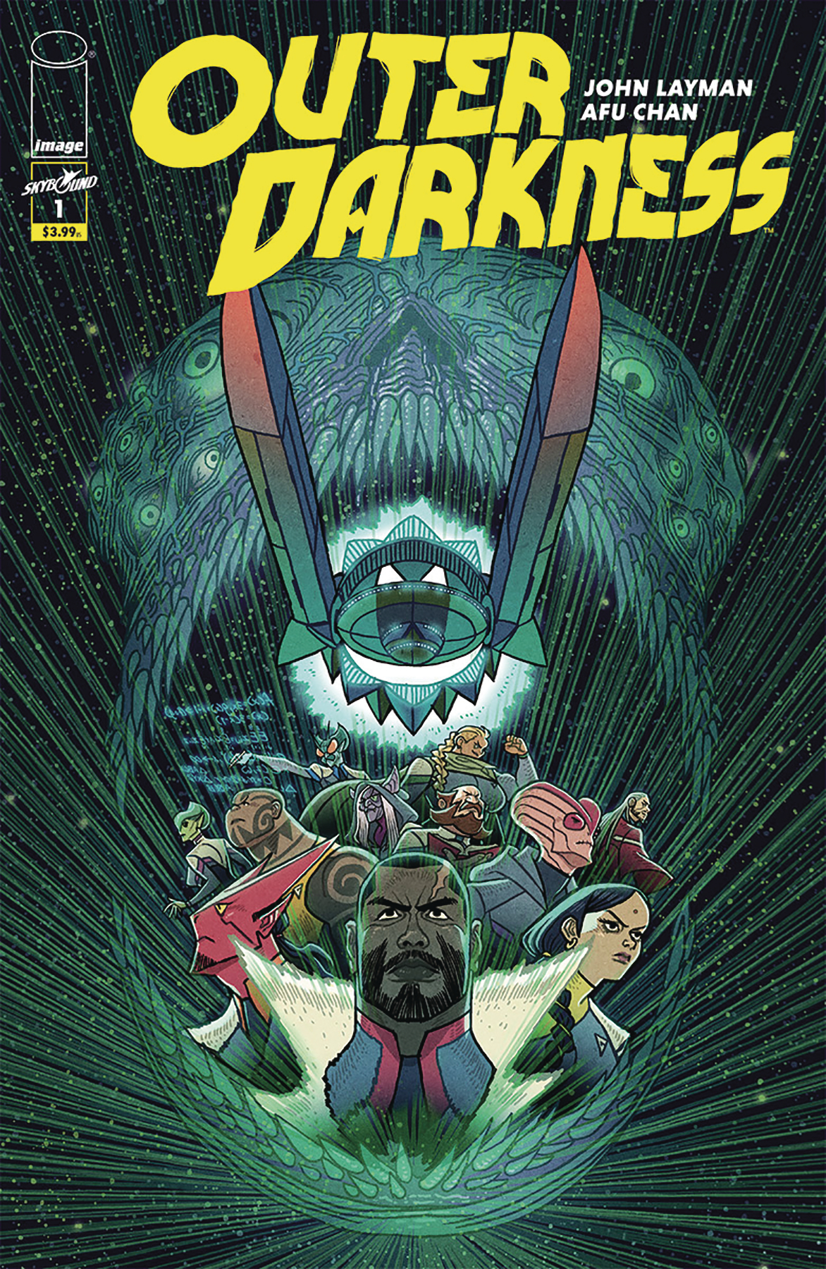 Outer Darkness #1  is out 11/7.