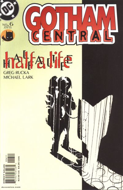 Gotham Central #6  by Greg Rucka and Michael Lark starts the classic  Half a Life  storyline, which centers on Renee Montoya.