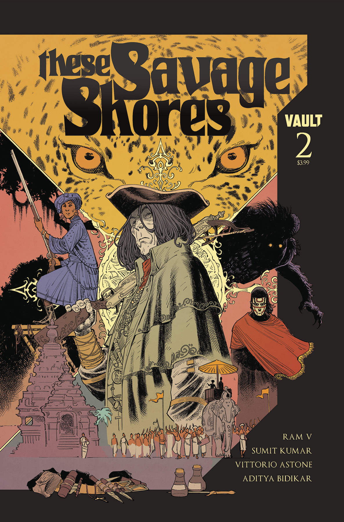 These Savage Shores #2  is out 11/28.