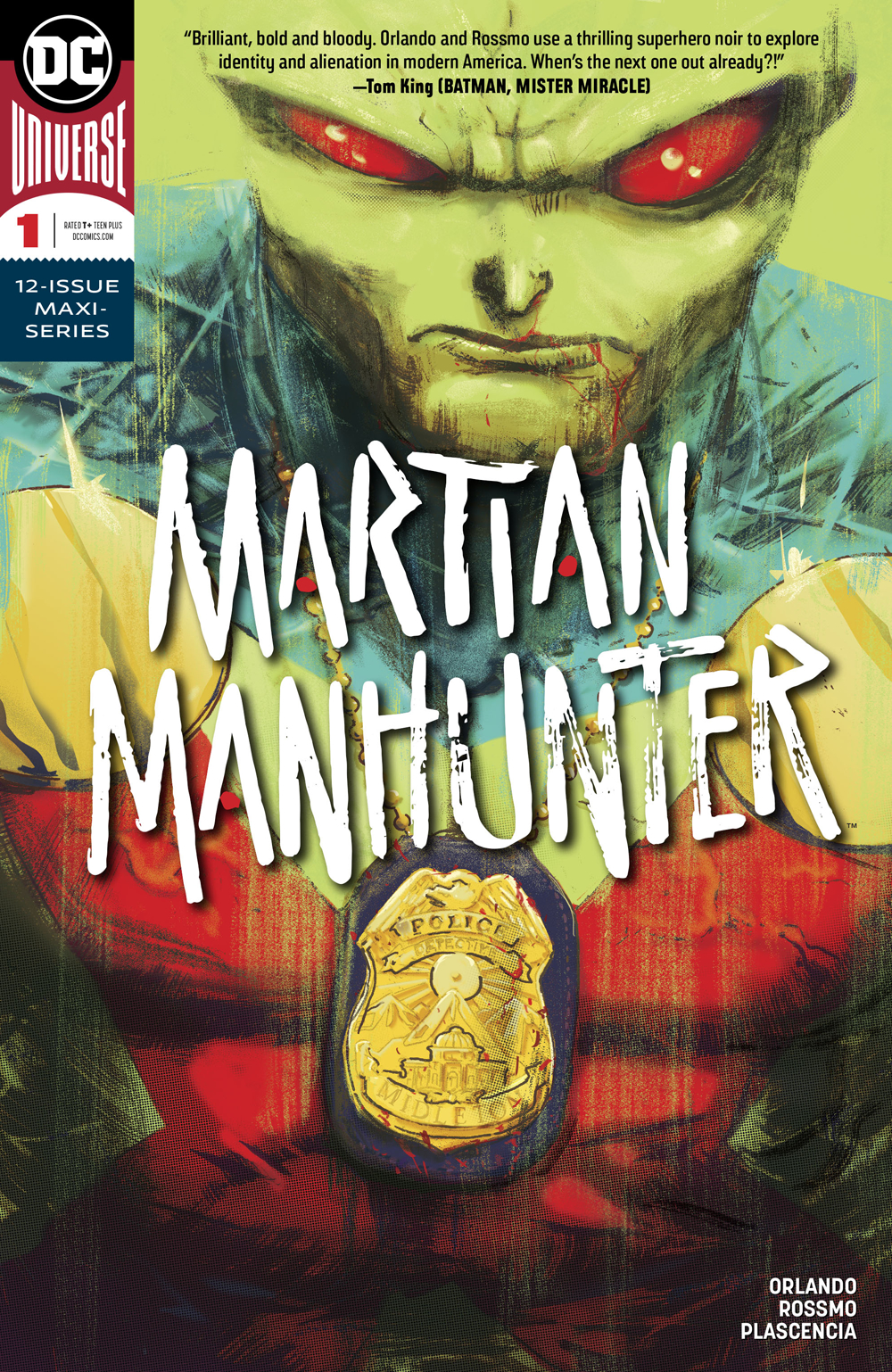 Martian Manhunter #1  is out 12/5.