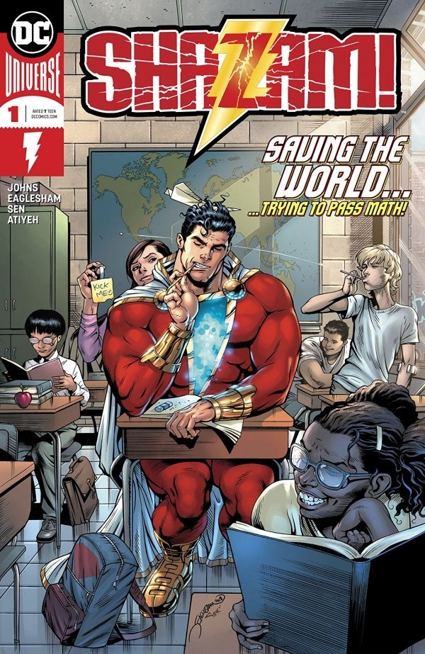 Shazam! #1  is out 12/5.