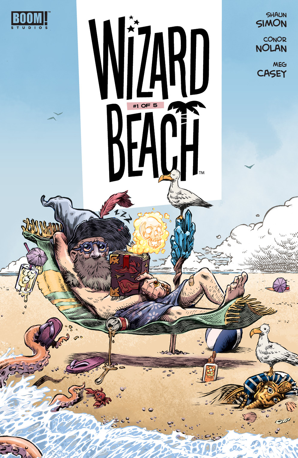 Wizard Beach #1  is out 12/5.