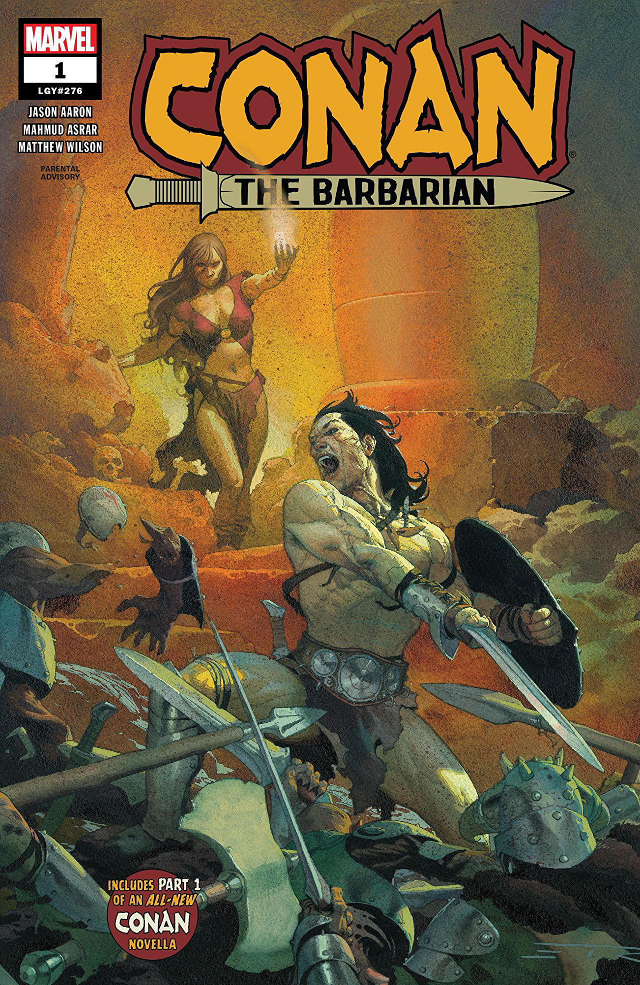 Conan the Barbarian #1  was released 1/2/2019.