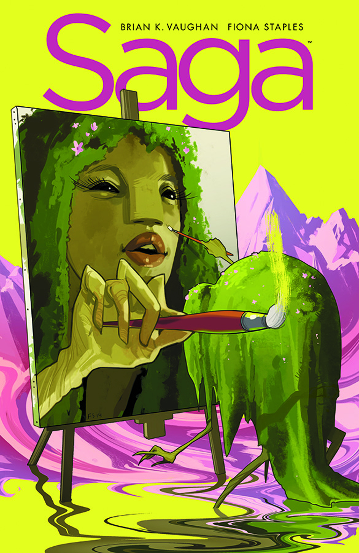 Saga #23  was released 9/24/2014.