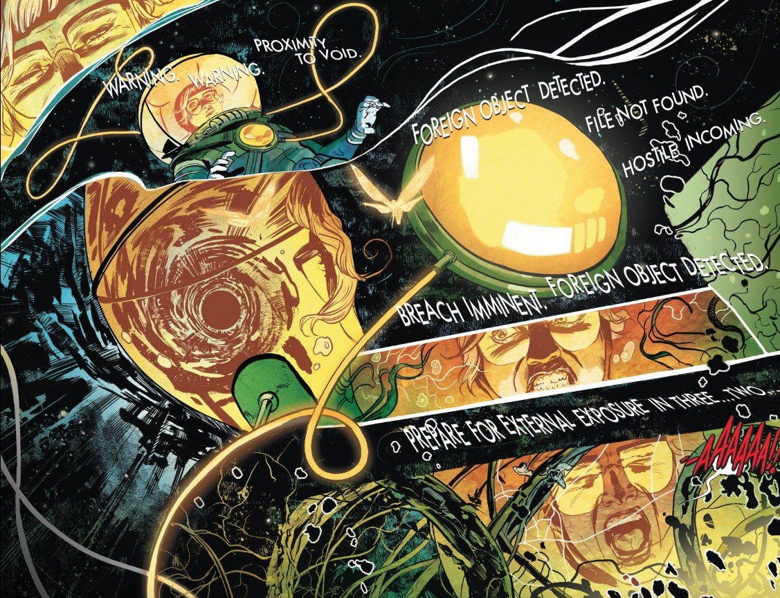 Nick Robles KILLED it on  Euthanauts  from IDW - Black Crown, and we'd love to see him get more high profile work in 2019.