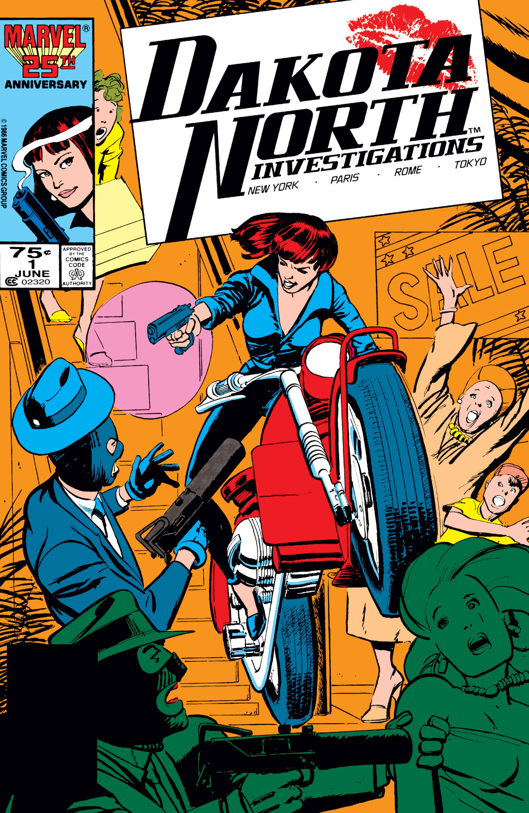 Here's hoping  Marvel Comics  has some new Dakota North stories coming in 2019.
