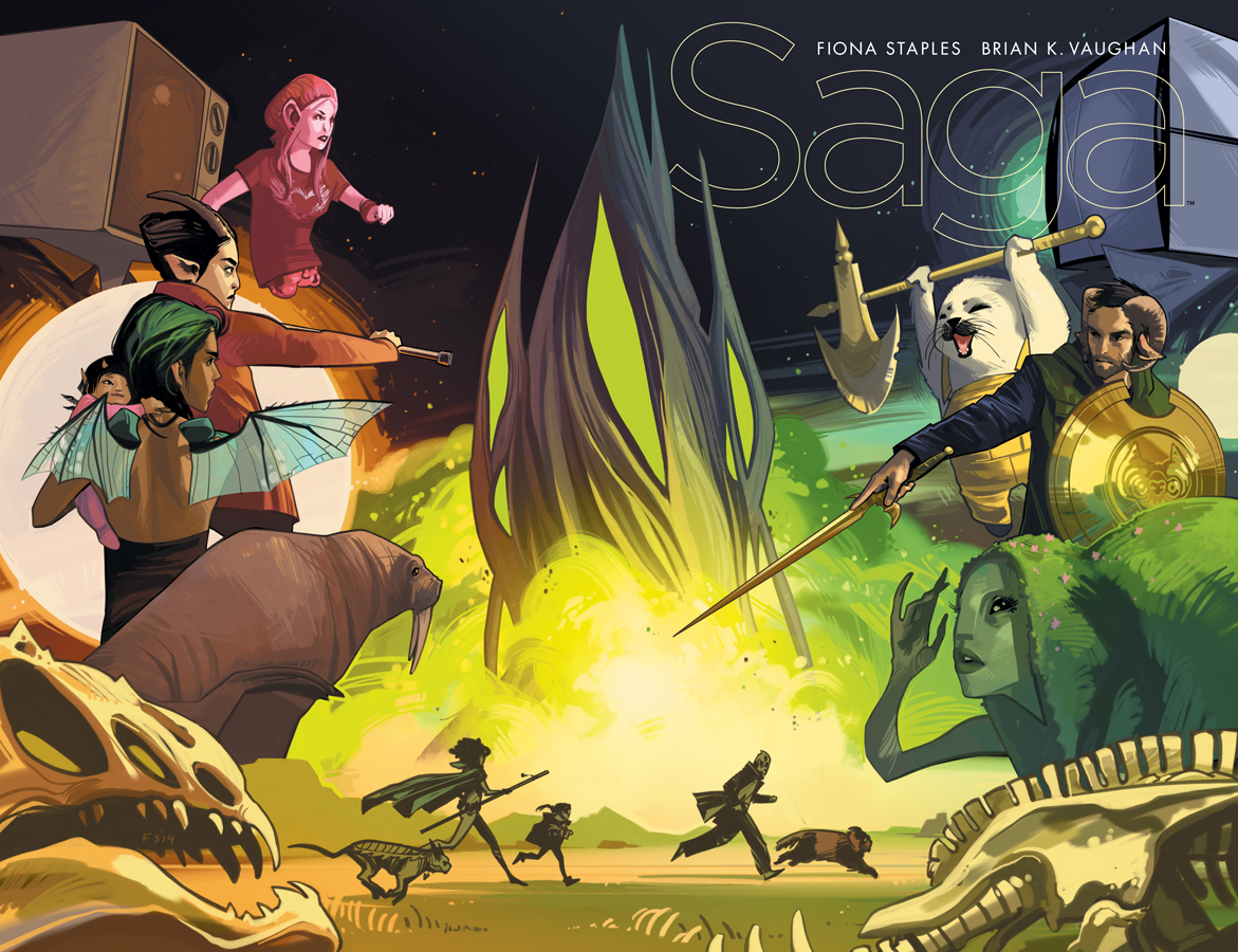 Saga #25  was first released 2/4/2015.