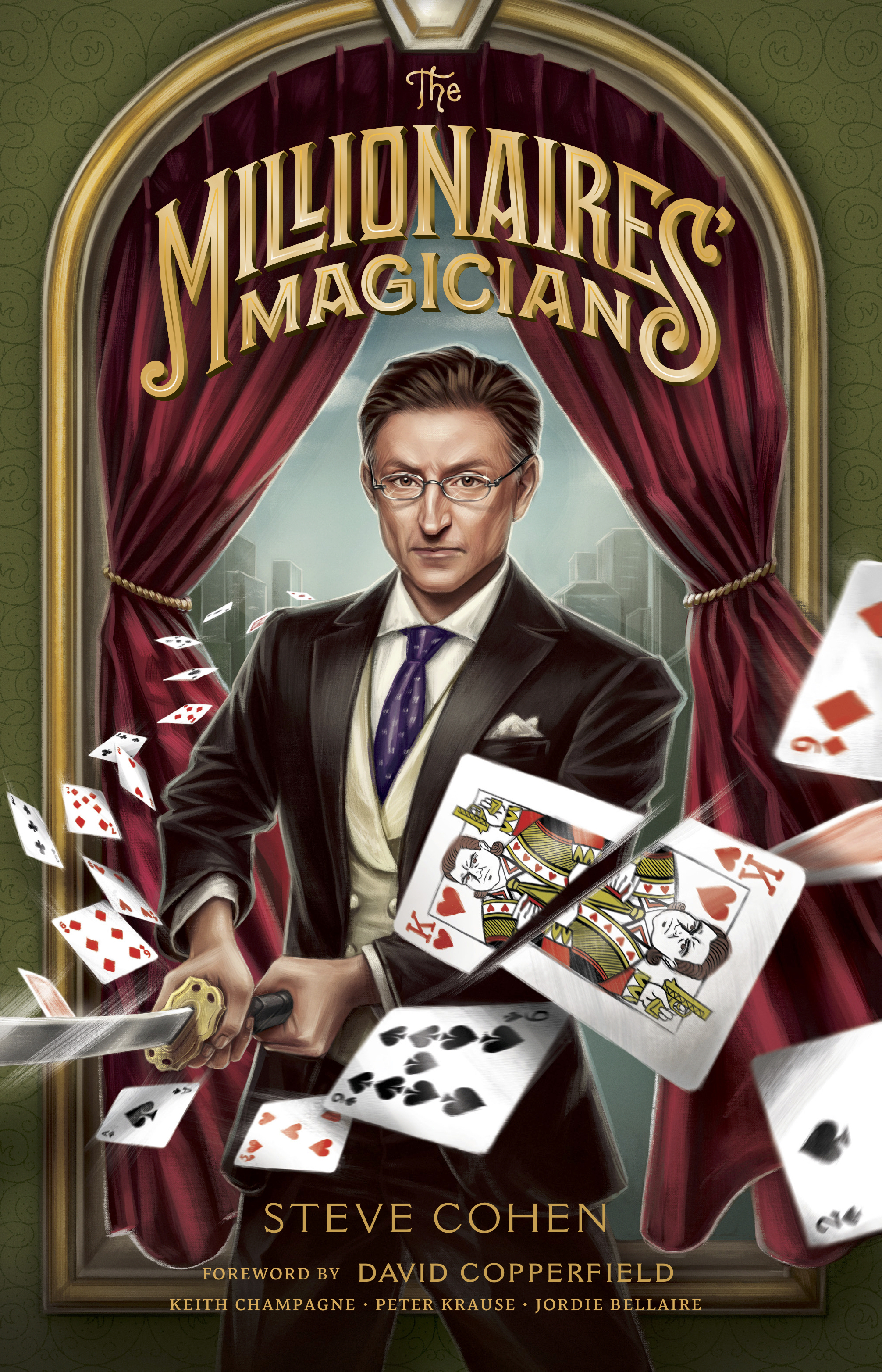 The Millionaires' Magician  is available now via the book's website.