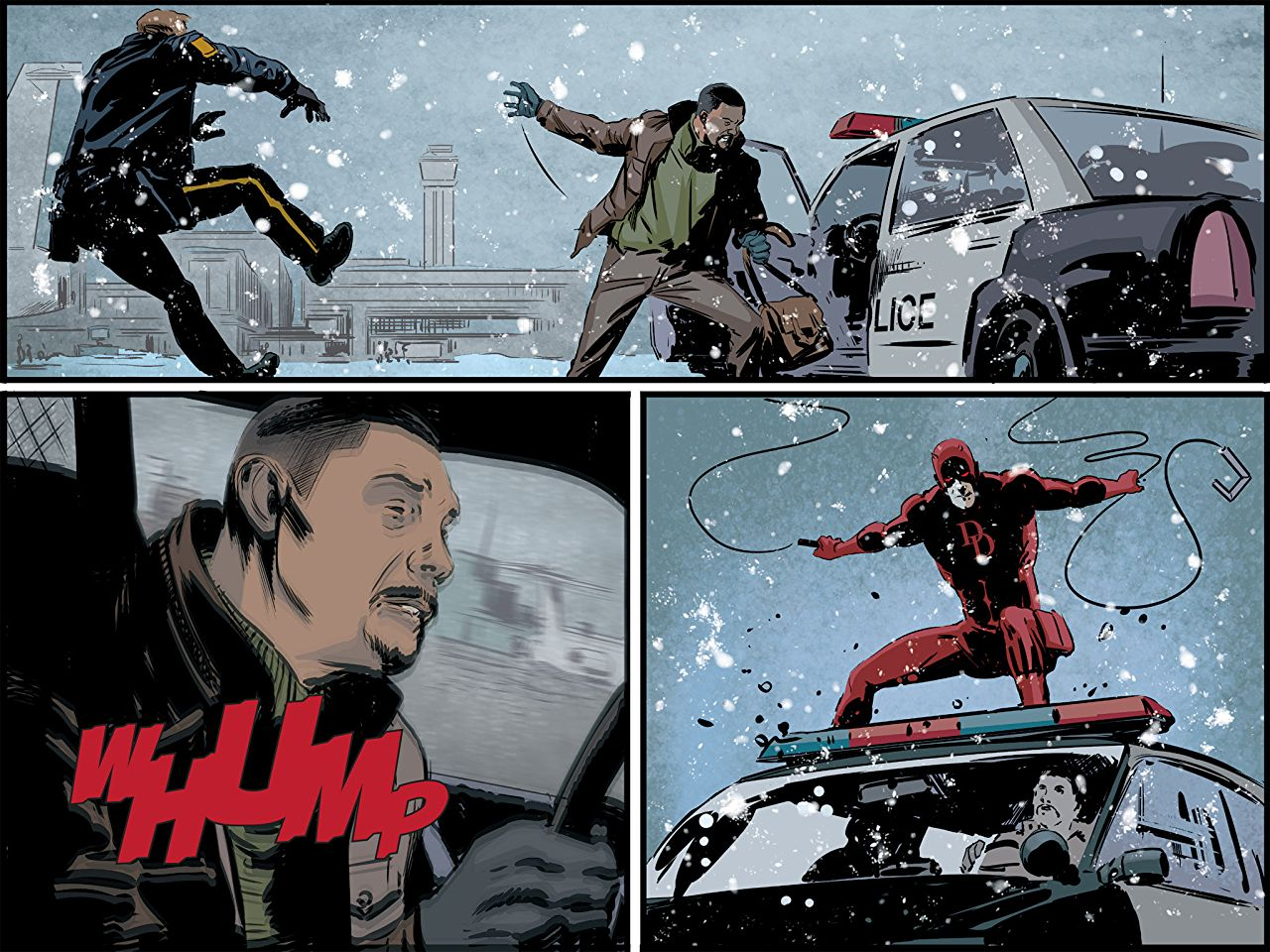 From  Daredevil: Road Warrior.