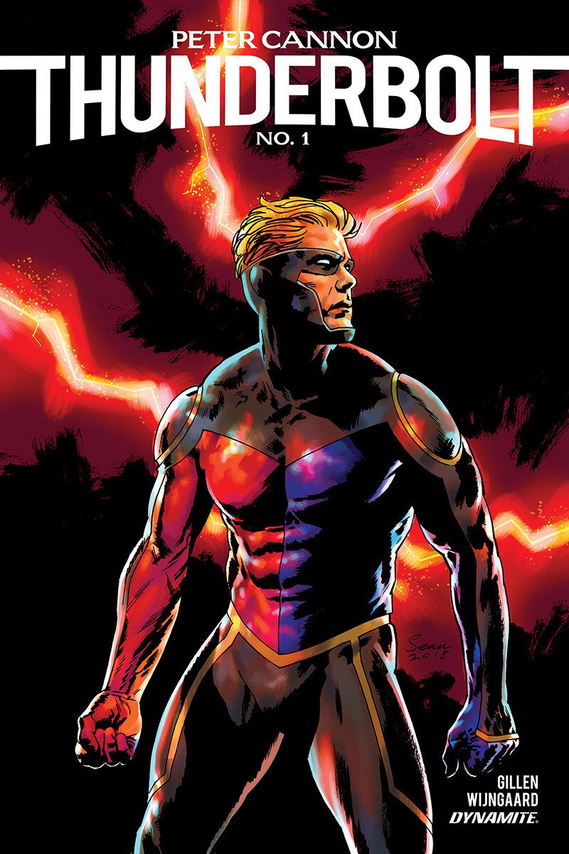 Peter Cannon: Thunderbolt #1  is out 1/30/2019.