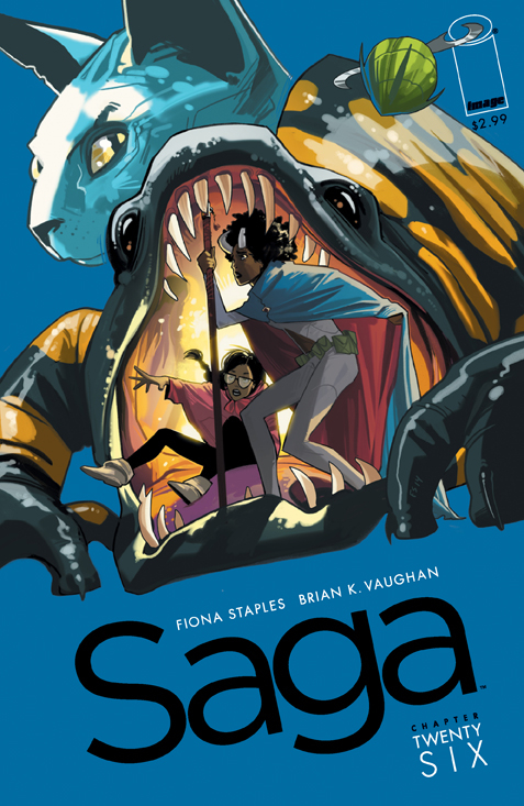 Saga #26  was originally released 3/4/2015.
