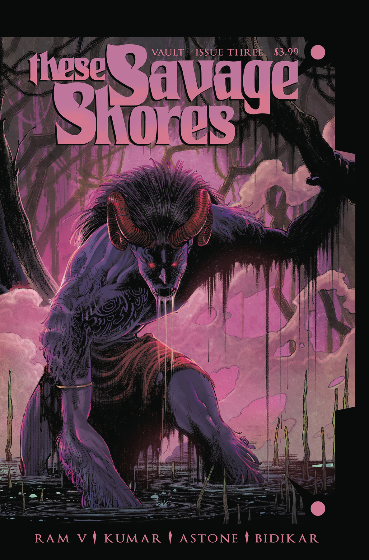 These Savage Shores #3  is out 2/6/2019.