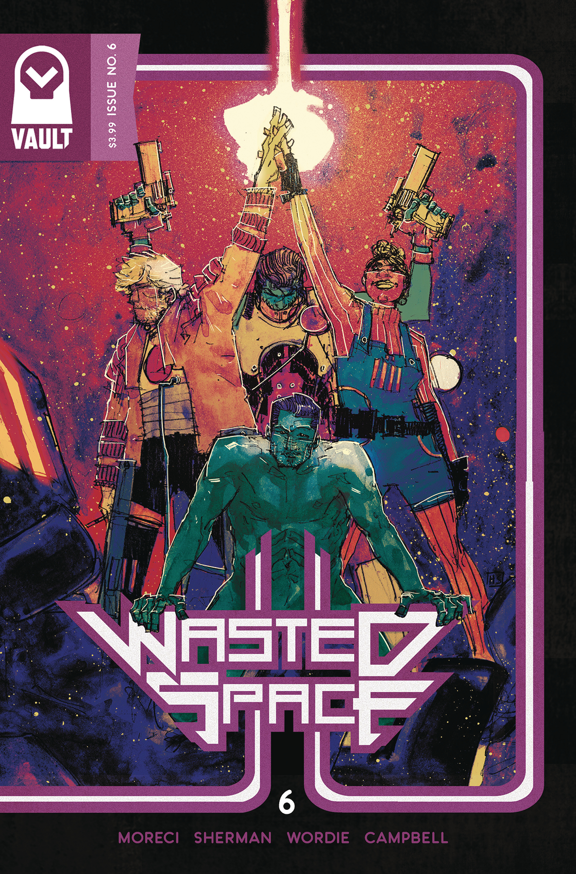 Wasted Space #6  is out 2/6/2019.