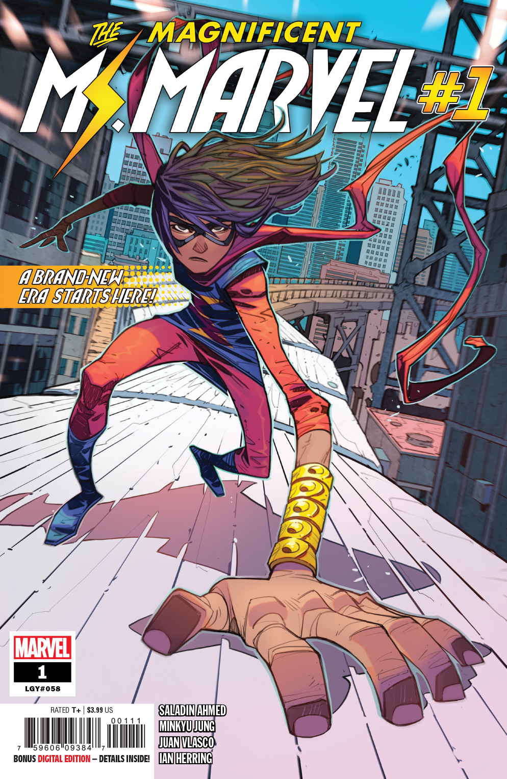 The Magnificent Ms. Marvel #1  is out 3/13/2019.