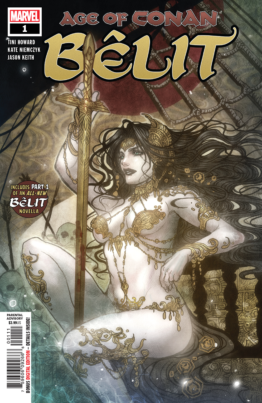 Belit, Queen of the Black Coast #1  is due out 3/13/2019.