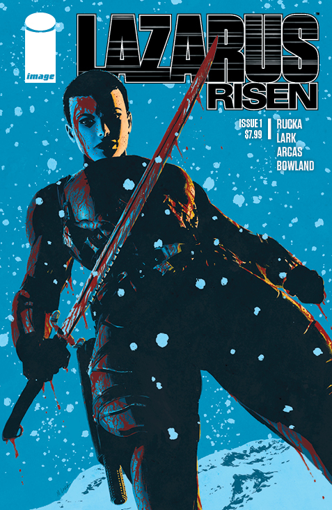 Lazarus Risen #1— the launch of the series new, quarterly super-sized format—is out 3/20/2019.