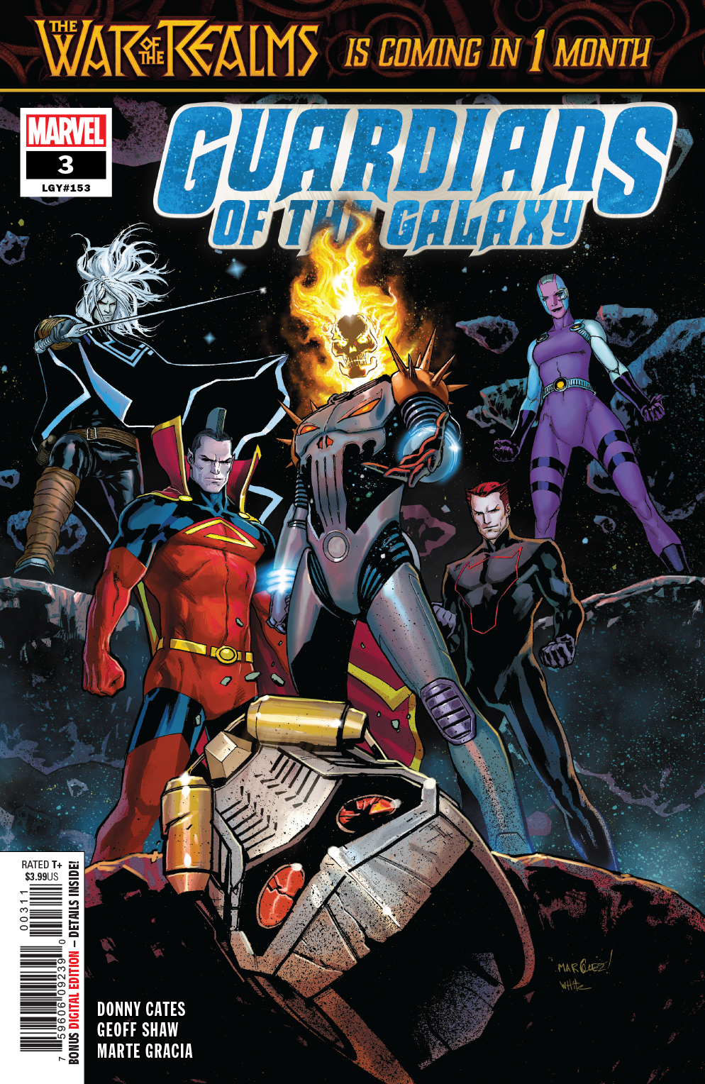 Guardians of the Galaxy #3  is out 3/20/2019.