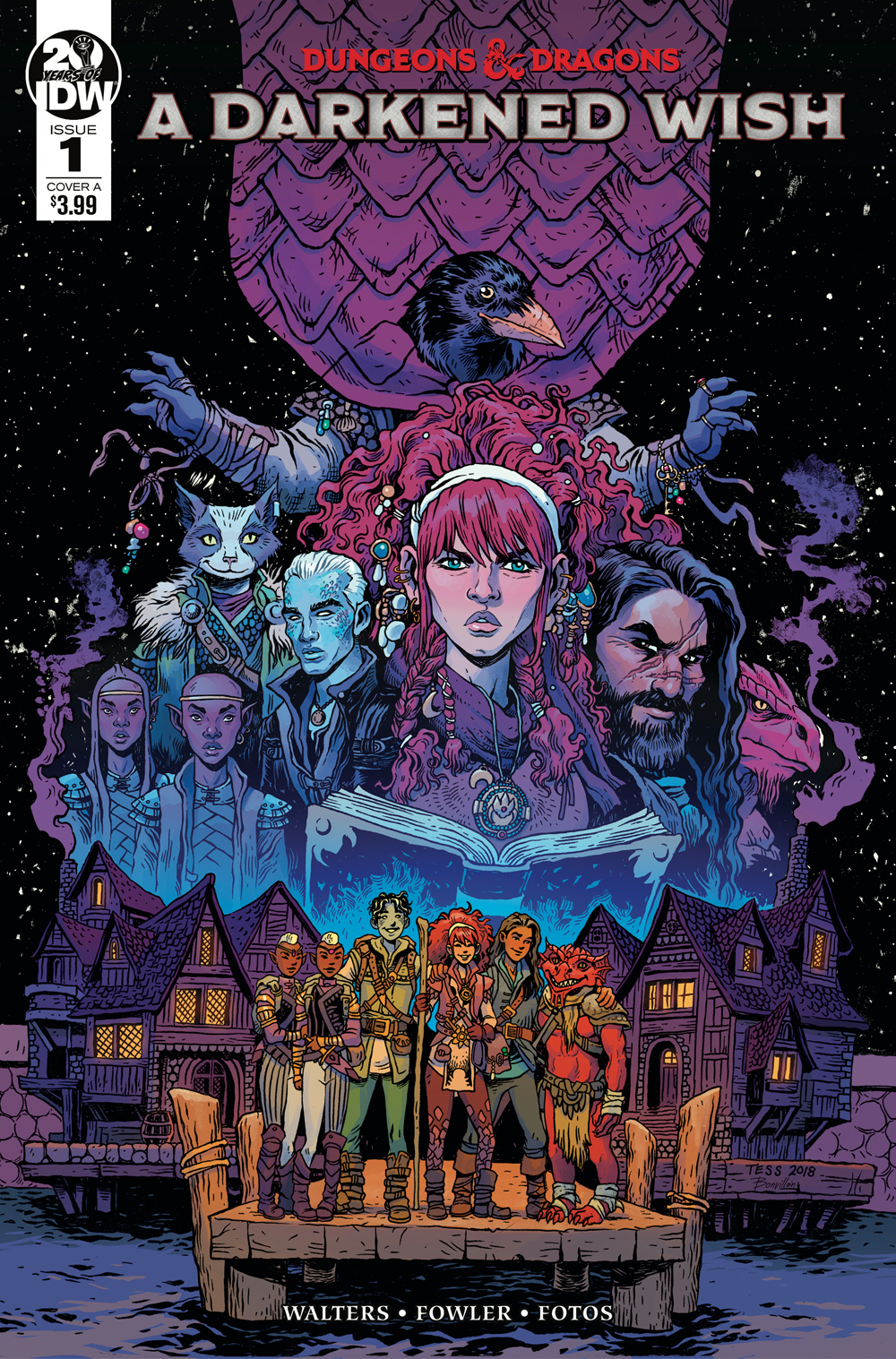 Dungeons & Dragons: A Darkened Wish #1  is out now.